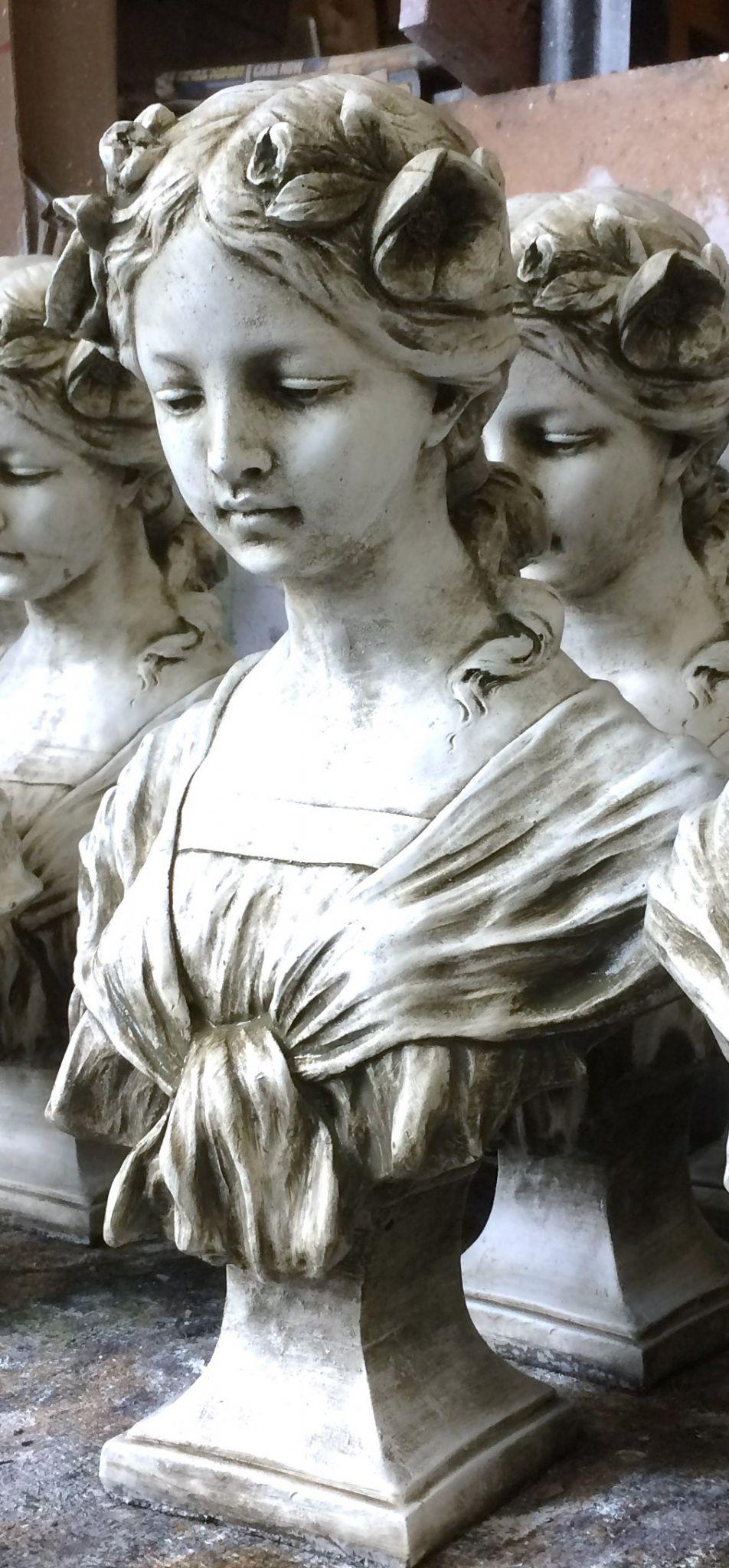 Art Nouveau Female Bust Josephine
