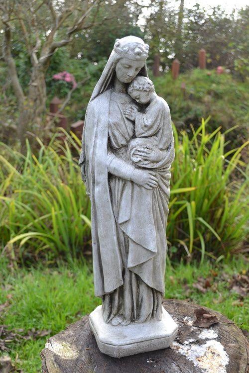 Madonna & Child religious statue