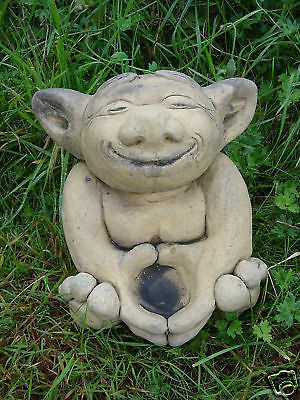 Troll Candle Holder garden ornament