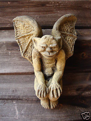 Winged Goblin wall plaque